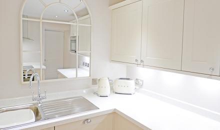Percy Cottage kitchen