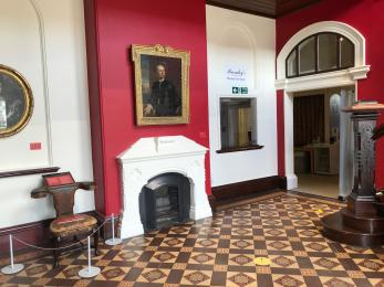Ground floor entrance to Welcome Hall