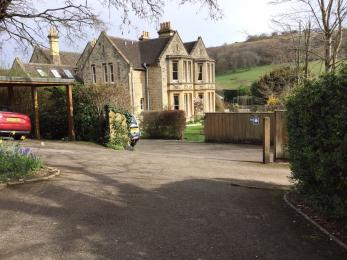 Car park at Woodchester Lodge