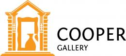 Image of the Cooper Gallery logo with Cooper Gallery written as text beside it