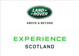 Land Rover Experience Scotland logo
