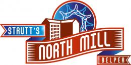 Logo of Strutt's Mill museum