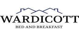 Wardicott Bed and Breakfast landscape logo.