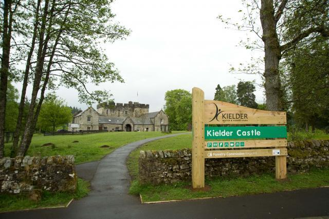 Entrance to Kielder Castle, Northumberland