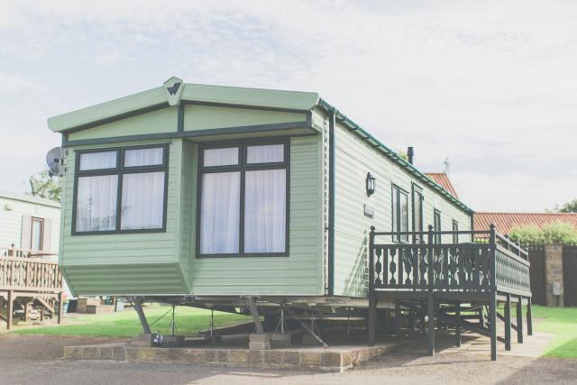 Exterior of Caravan