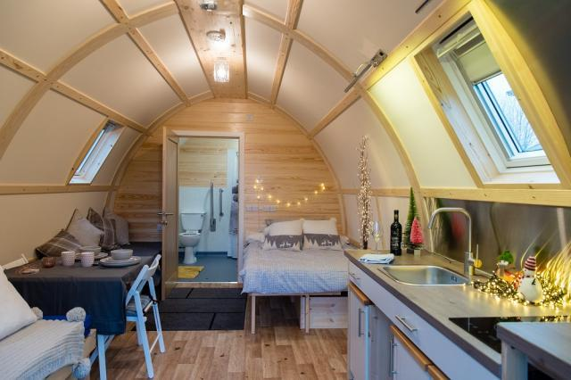 Accessible cabin at The Loft
