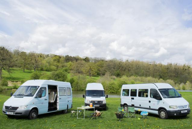 Self drive campervans for hire