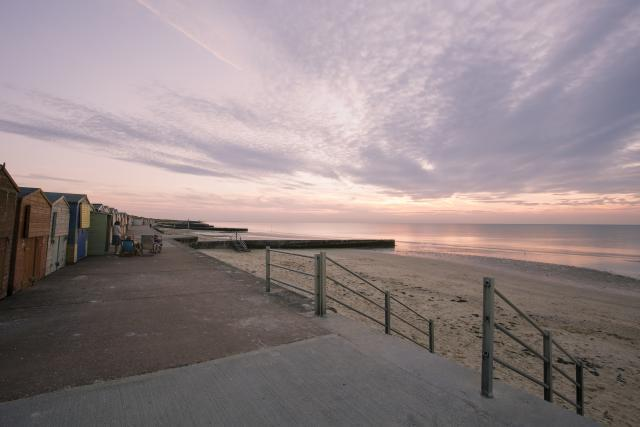 Minnis Bay from the prom at sunset