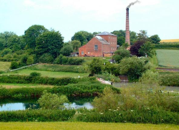 Crofton Beam Engines - View from Wilton Water