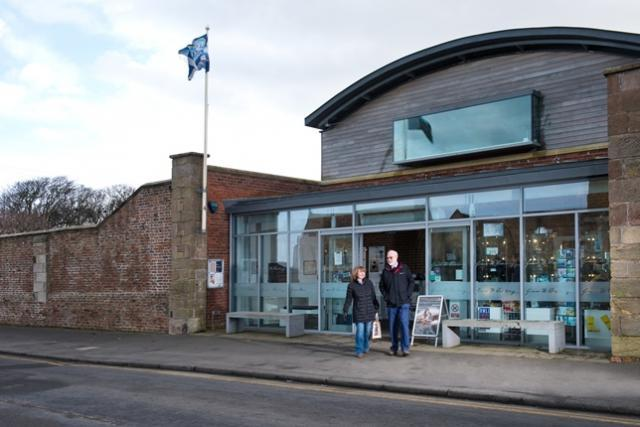 Exterior of the RNLi Grace Darling Museum