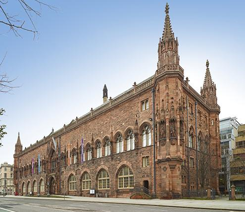 Scottish National Portrait Gallery exterior view