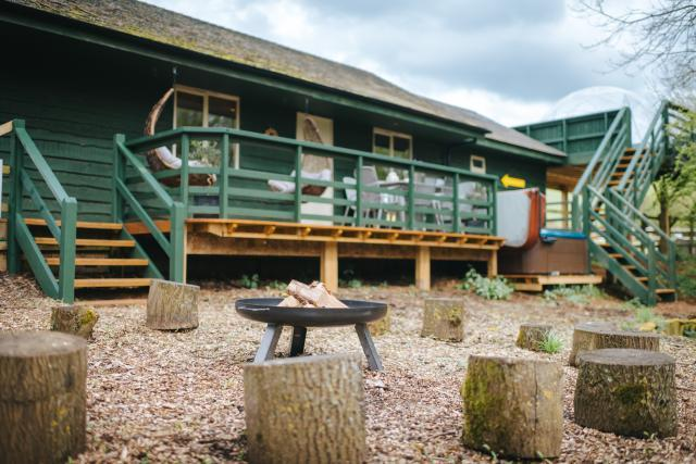 The Chicken Shed Lodge at Winchcombe Farm