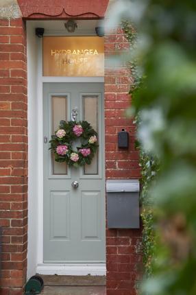 Hydrangea House Front Entrance