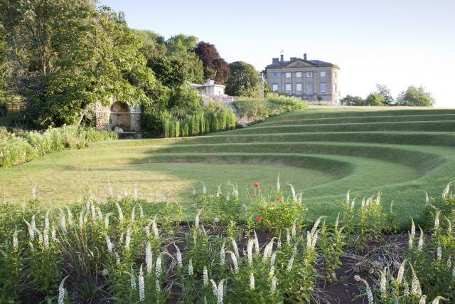 Claverton Manor viewed from the New American Garden