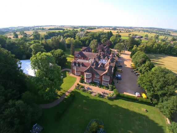 Scalford country House aerial view