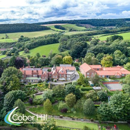 Cober Hill, on the edge of the North York Moors National Park, overlooking the sea
