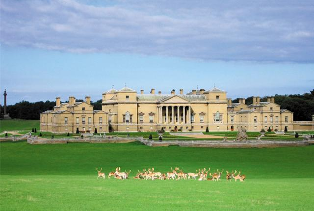 Holkham Hall in north Norfolk