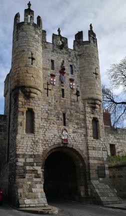 Micklegate Bar, the home of the Henry VII Experience.